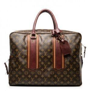 Authentic Louis Vuitton Monogram Bequi Briefcase